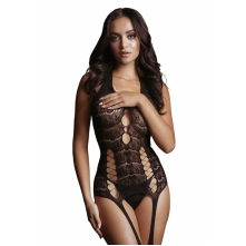 Кетсьюит (боди-комбинезон) Lace Suspender Bodystocking S-XL